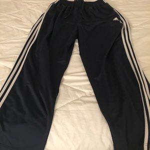 Men's Adidas warmup pants size L